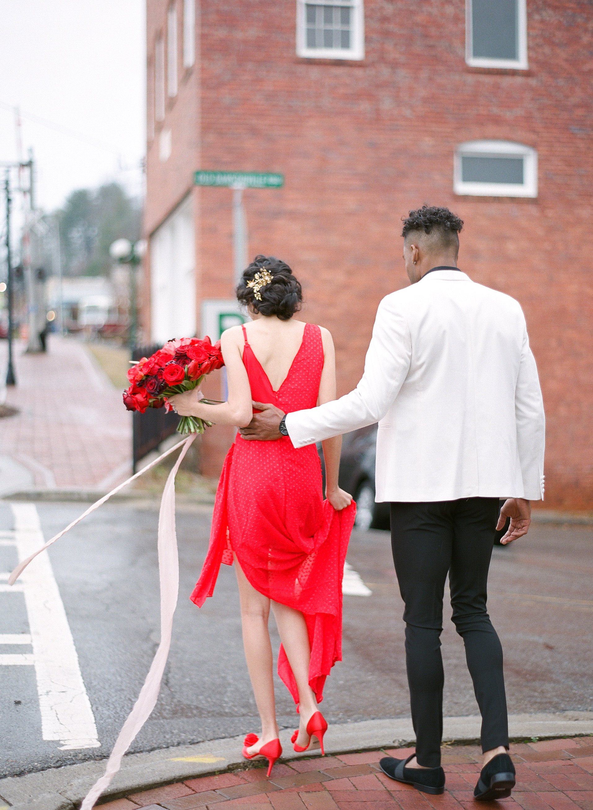 Bold and Romantic Valentine's Day Wedding Inspiration, Lush Bold Red Valentine Wedding, KnotsVilla Wedding Inspiration, Georgia Wedding Inspiration